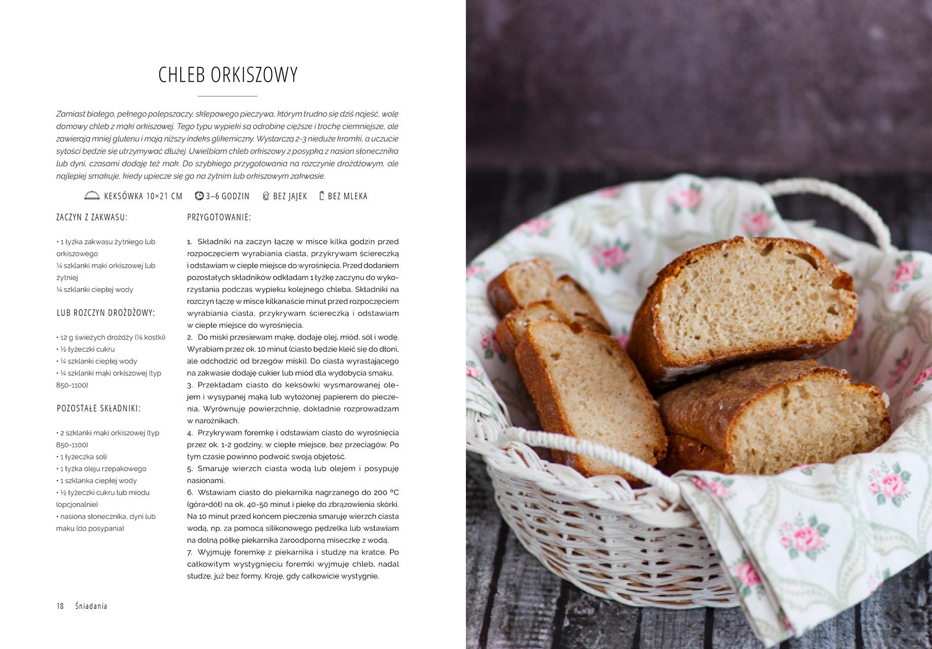 Superfood po polsku - przepis na chleb orkiszowy
