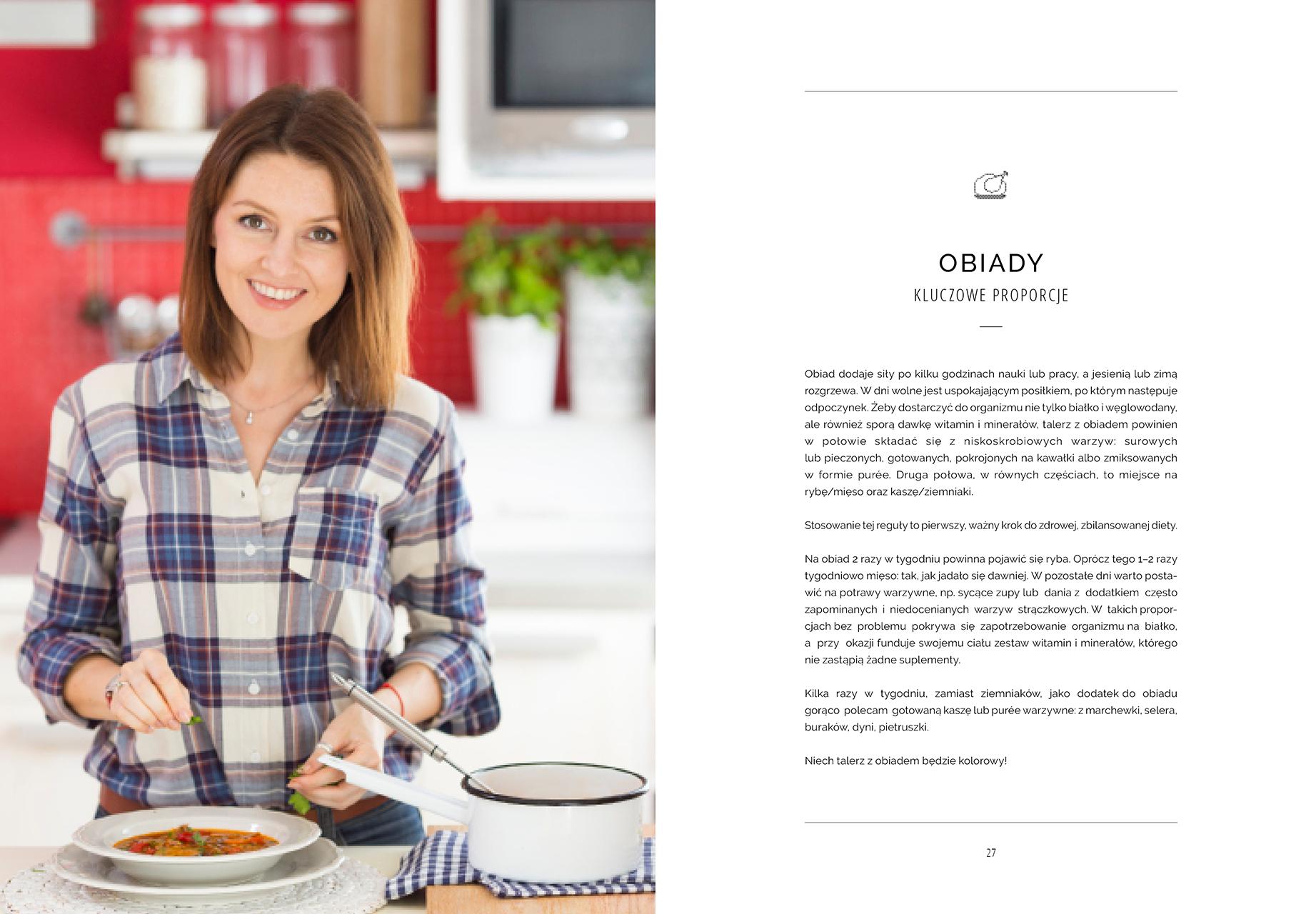 Superfood po polsku - obiady - strona tytułowa rozdziału